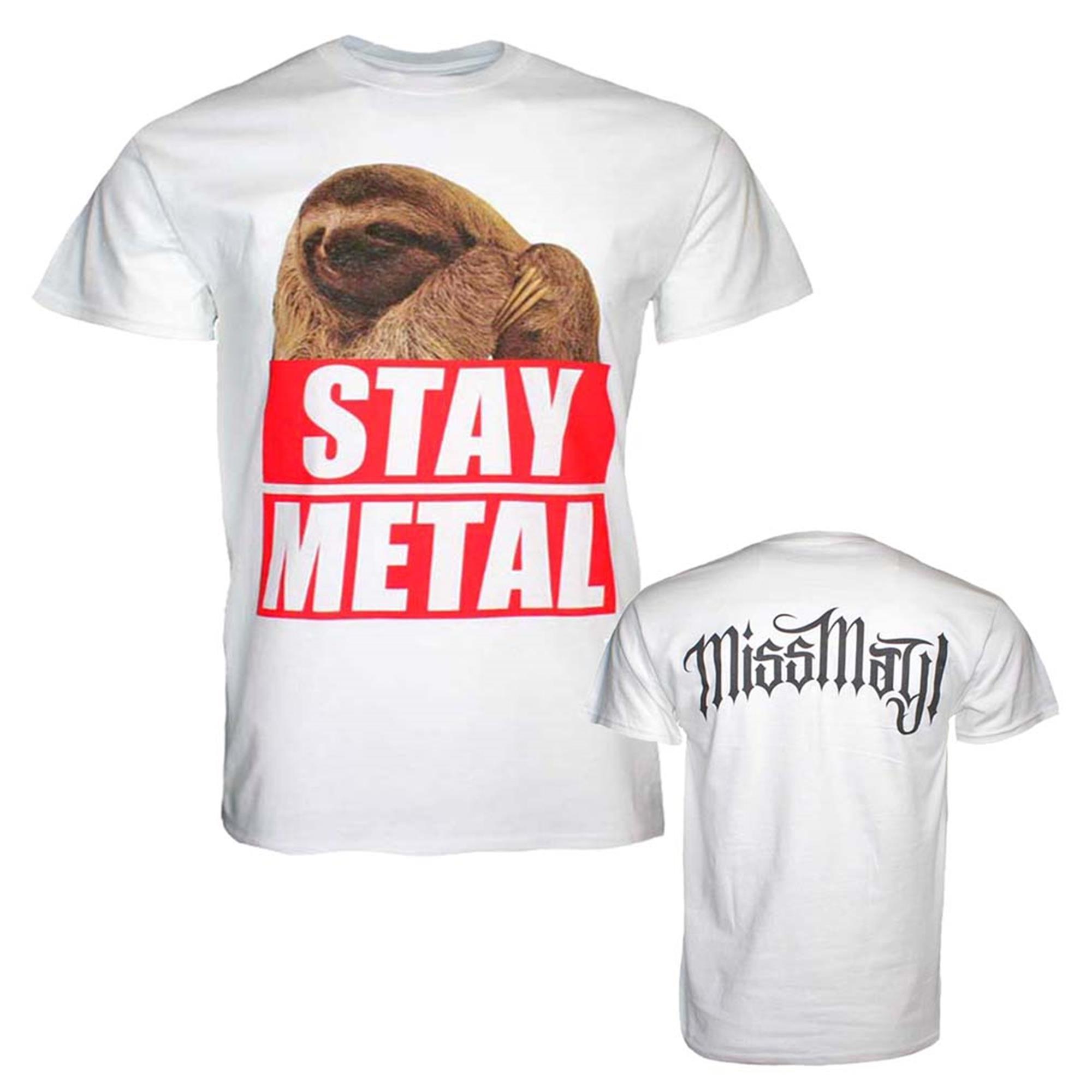 Miss May I Stay Metal Sloth T-Shirt