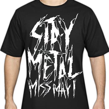 Buy Stay Metal T-Shirt by Miss May I