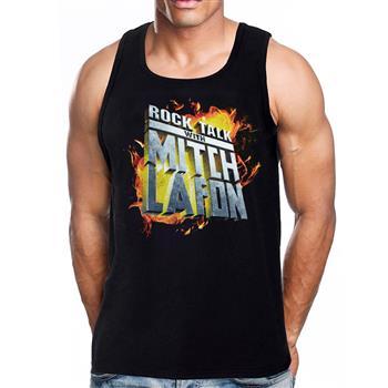 Rock Talk Mitch Lafon Logo Tank Top