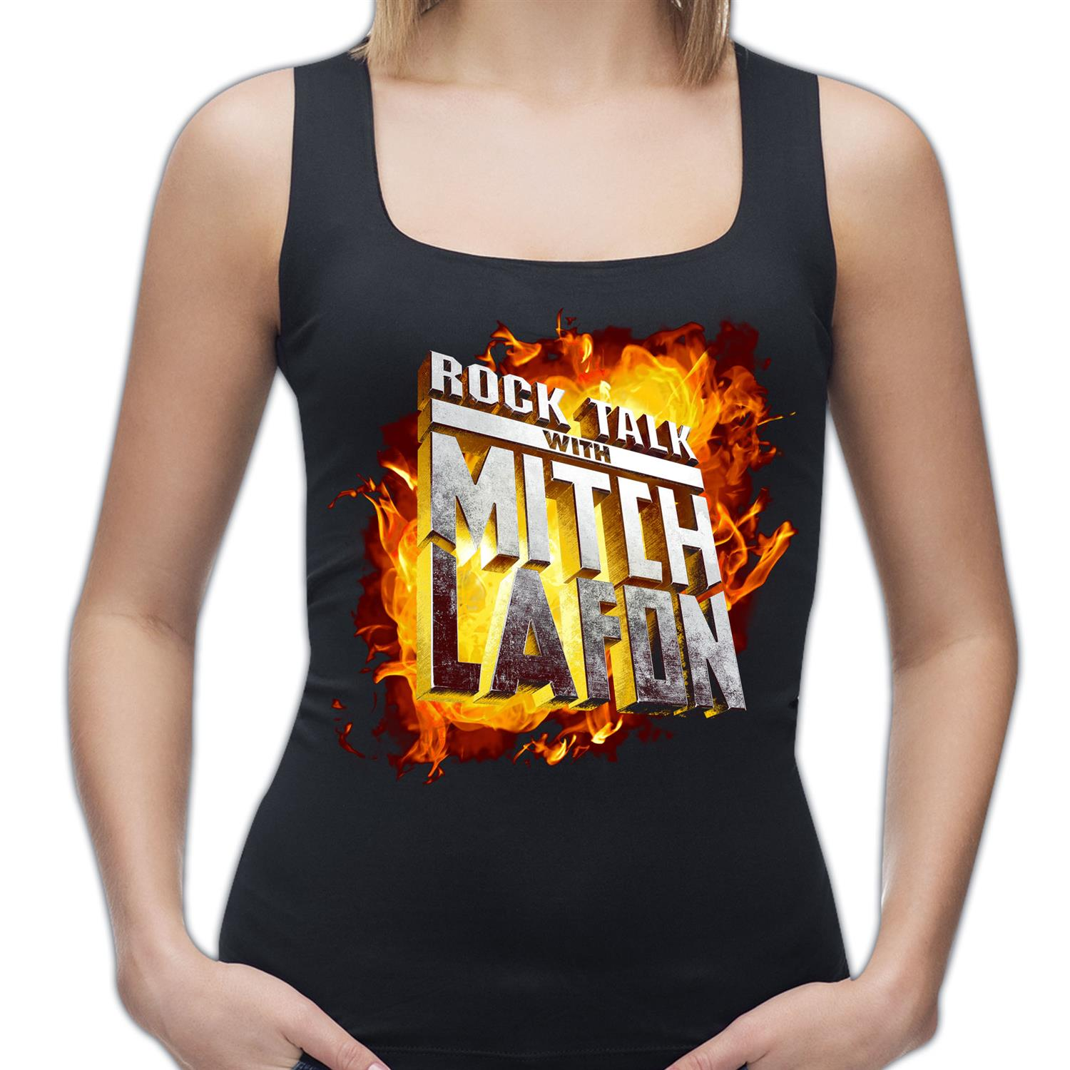 Mitch Lafon Logo Tank Top