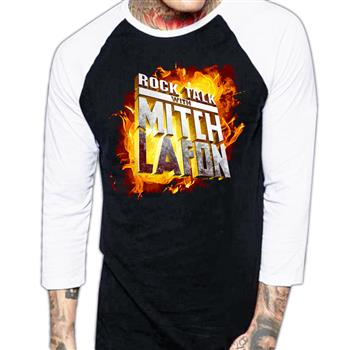 Rock Talk Mitch Lafon Logo Raglan