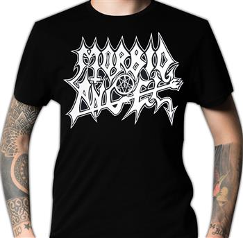 Morbid Angel White Logo