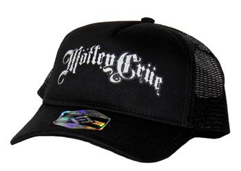 Buy Motley Crue 5 Panel Trucker Hat by Motley Crue
