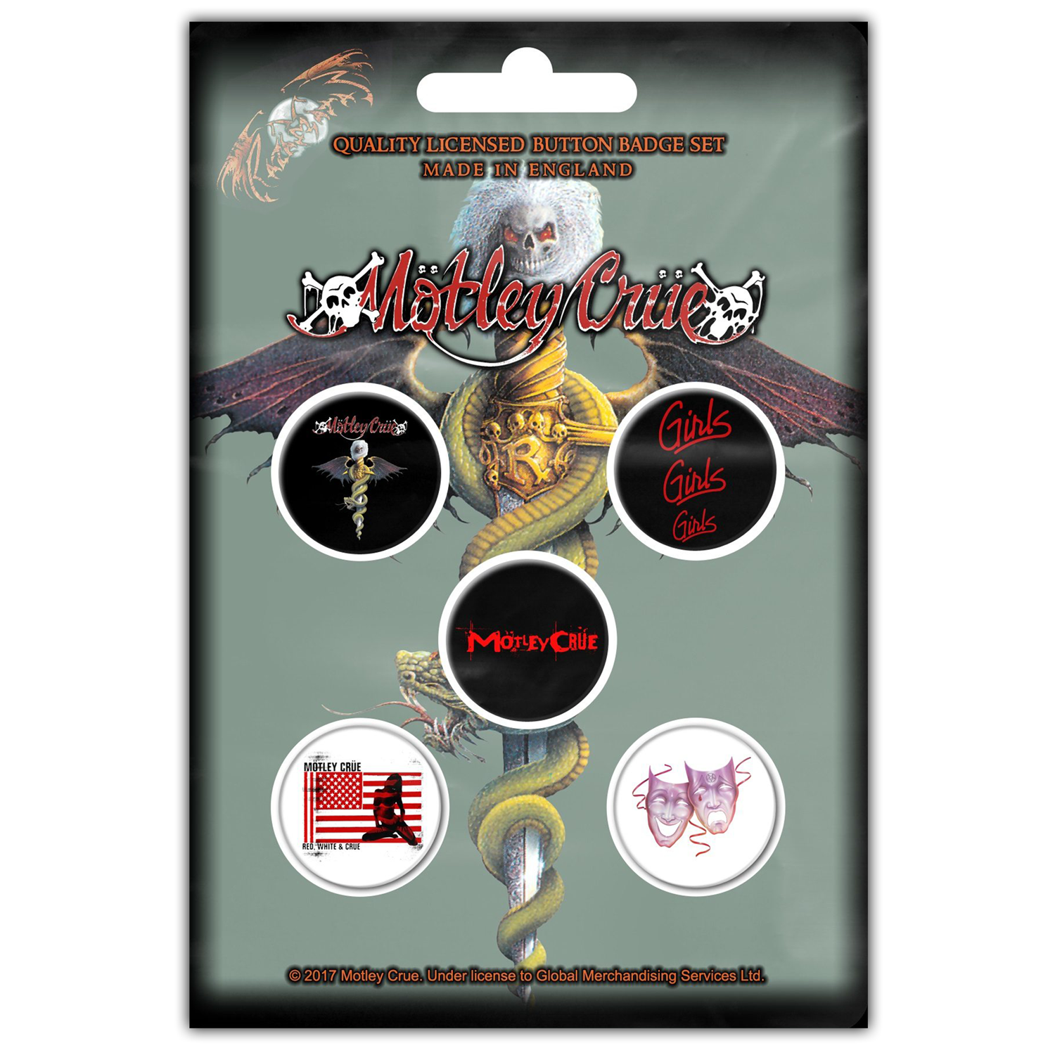 Dr. Feelgood (Button Pin Set)