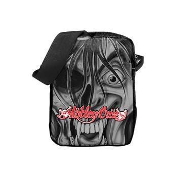 Motley Crue Motley Crue Dr. Feelgood Face Crossbody Bag