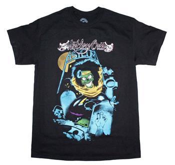 Buy Motley Crue Graveyard Vintage-Inspired T-Shirt by Motley Crue