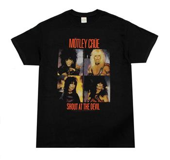 Buy Motley Crue Panels T-Shirt by Motley Crue