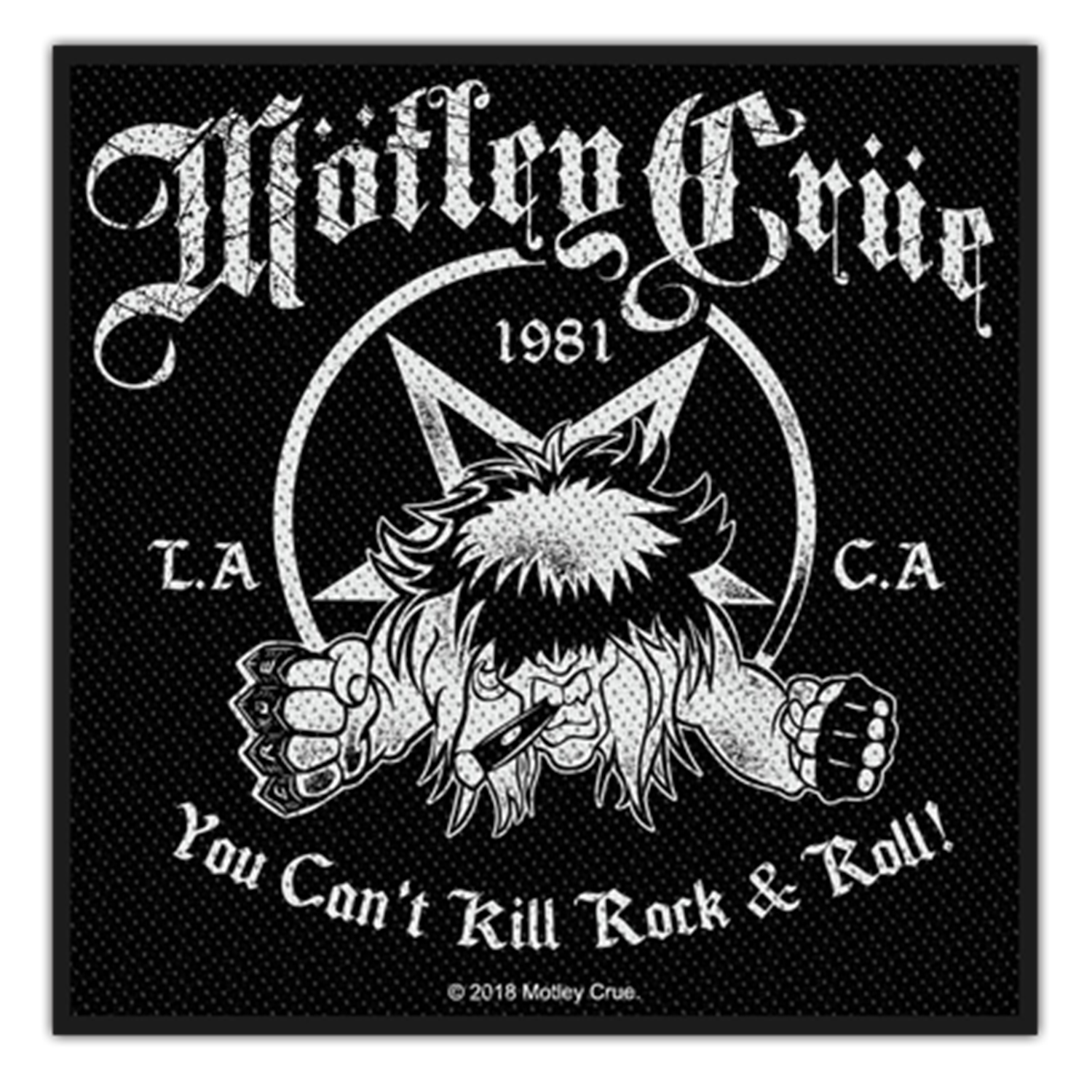 You Can't Kill Rock N Roll Patch