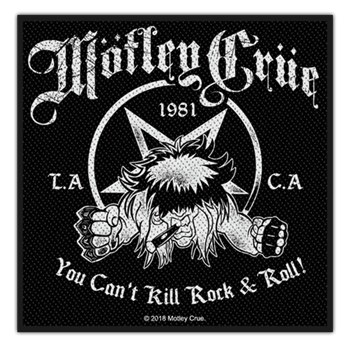 Buy You Can't Kill Rock N Roll Patch by Motley Crue