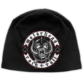 Buy Biker Badge Beanie by Motorhead