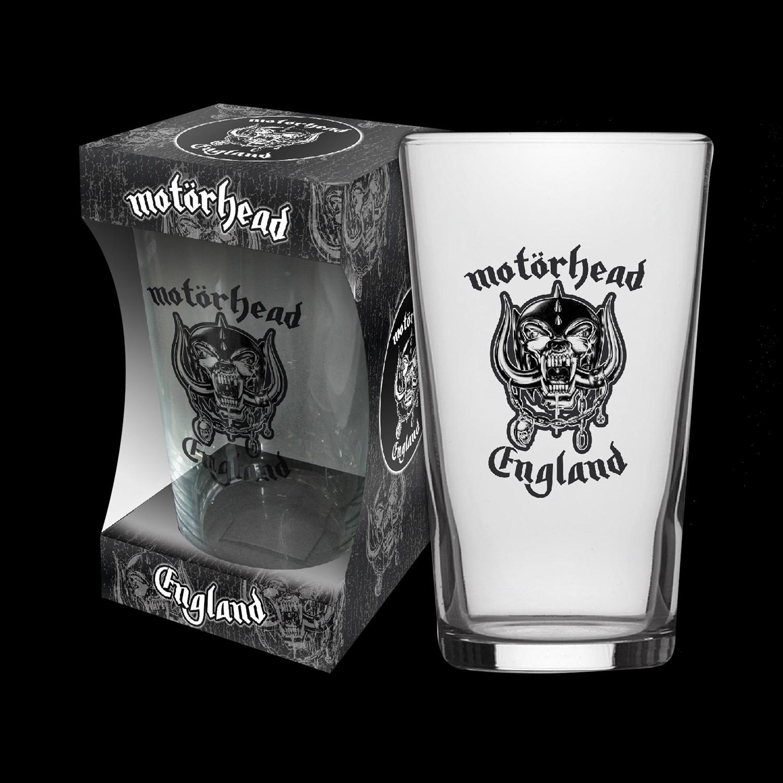 England Beer Glass