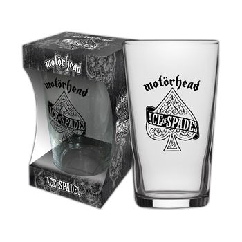 Motorhead Ace Of Spades Beer Glass