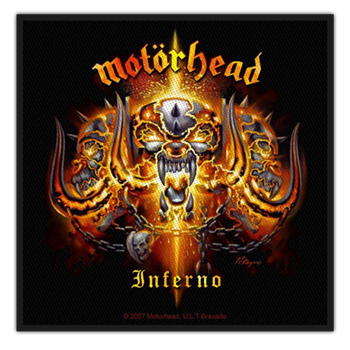 Buy Inferno Patch by Motorhead