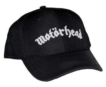 Motorhead Motorhead Logo Black Baseball Hat