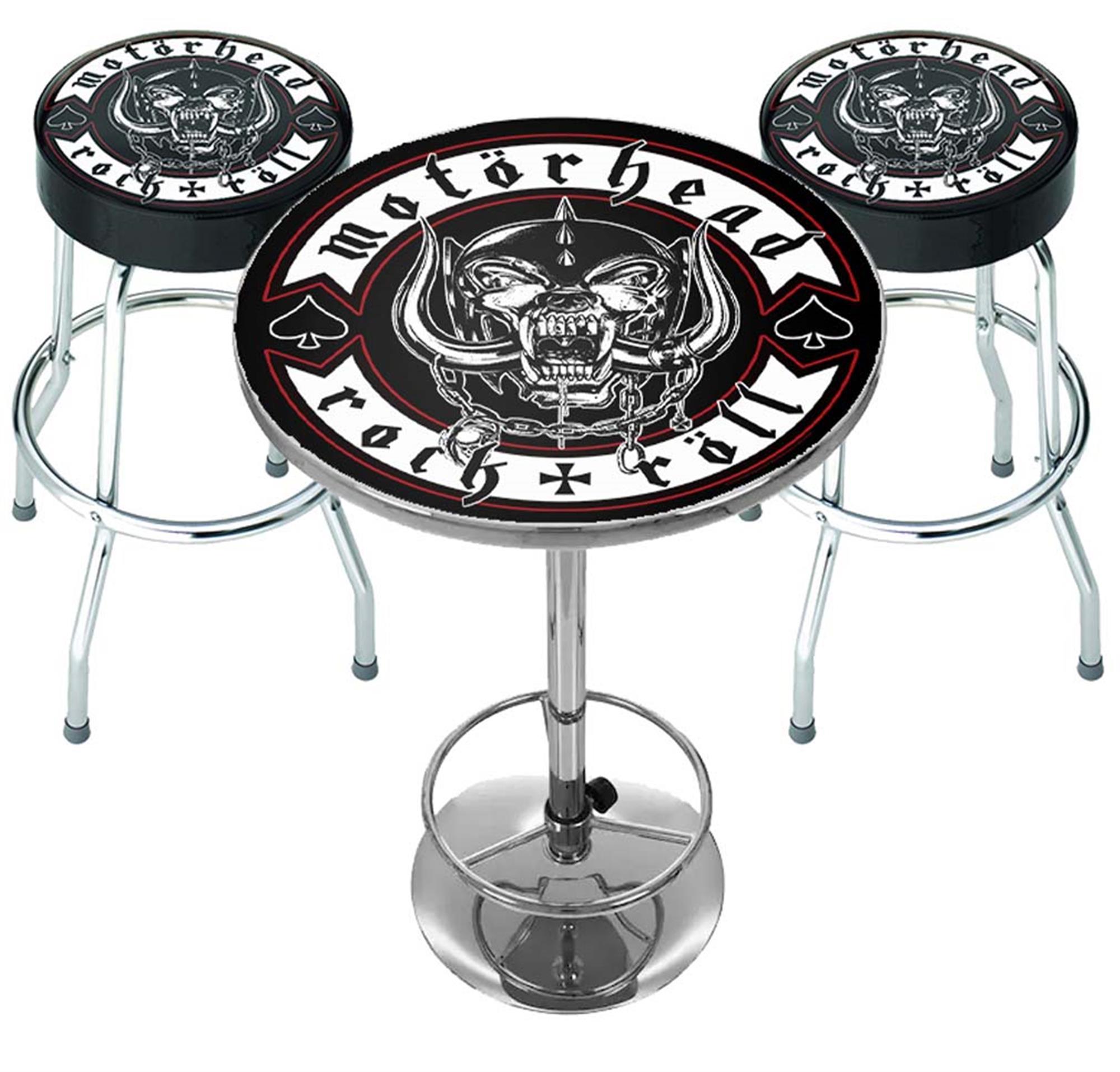 Motorhead Rock n Roll Bar Set