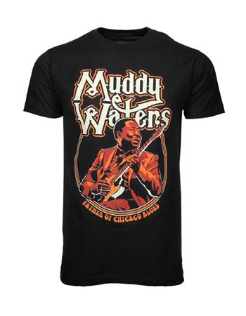 Muddy Waters Muddy Waters Father of Chicago Blues T-Shirt