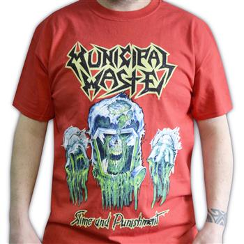 Municipal Waste Slime And Punishment T-Shirt