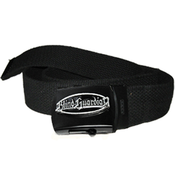 Blind Guardian Name In Oval Web Belt