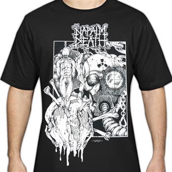 Napalm Death Harmony Corruption (Import) T-shirt