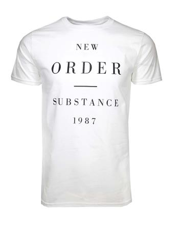 New Order New Order Substance 1987 T-Shirt
