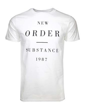 New Order New Order Substance 1987 T-Shirt