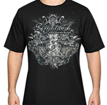 Nightwish Endless Forms Album Cover T-Shirt
