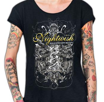 Buy Endless Forms Tour T-Shirt by Nightwish