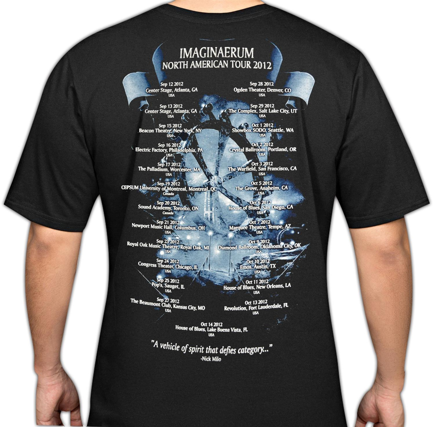 Imaginaerium Tour Dates T-Shirt