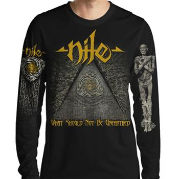 Nile What Should Not Be Unearthed Long Sleeve T-Shirt