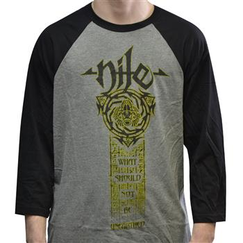 Buy What Should Not Be Unearthed Tour Raglan by Nile