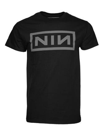 Nine Inch Nails Nine Inch Nails Grey NIN Logo T-Shirt