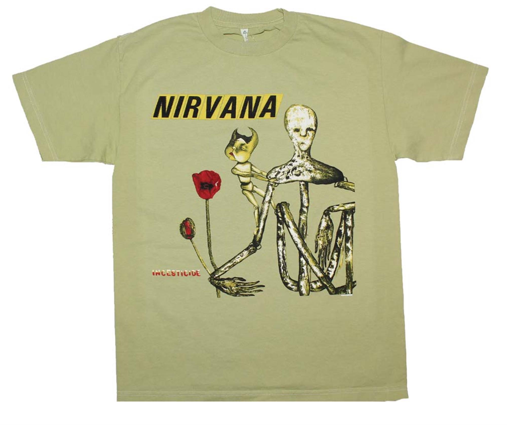 Nirvana Incesticide Album T-Shirt