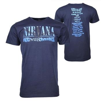 Buy Nirvana Nevermind Album Play List T-Shirt by Nirvana