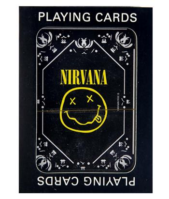 Buy Nirvana Smiley Logo Playing Cards by Nirvana