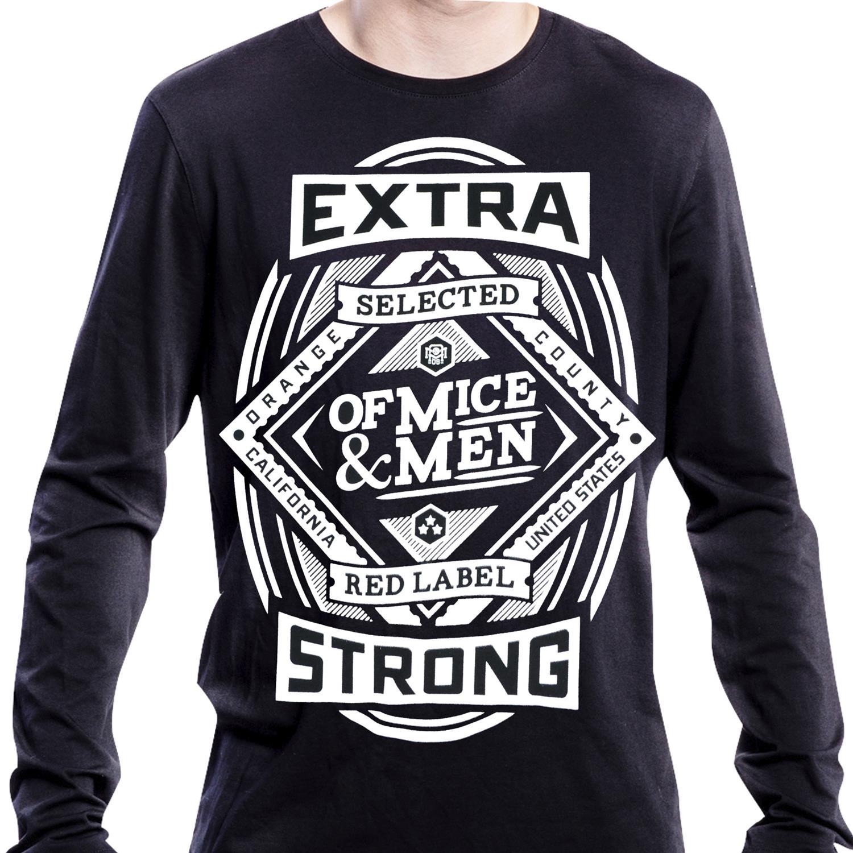 Beer Label Crew Neck Sweatshirt