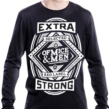 Of Mice & Men Beer Label Crew Neck Sweatshirt