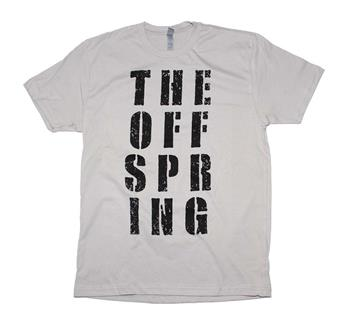 Buy The Offspring Block Letter T-Shirt by OFFSPRING