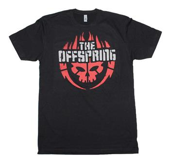 Buy The Offspring Skull Logo T-Shirt by OFFSPRING