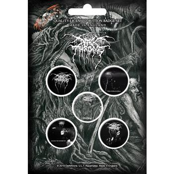 Darkthrone Old Star Button Pin Set