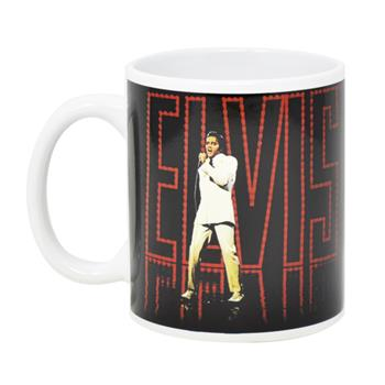 Elvis Presley On The Scene Mug