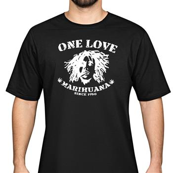 Buy One Love T-Shirt by Bob Marley