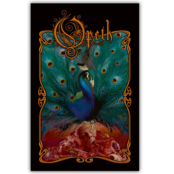 Opeth Peacock Patch