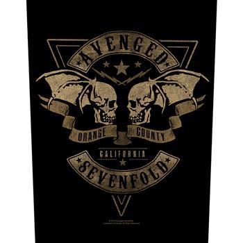 Avenged Sevenfold Orange County Backpatch