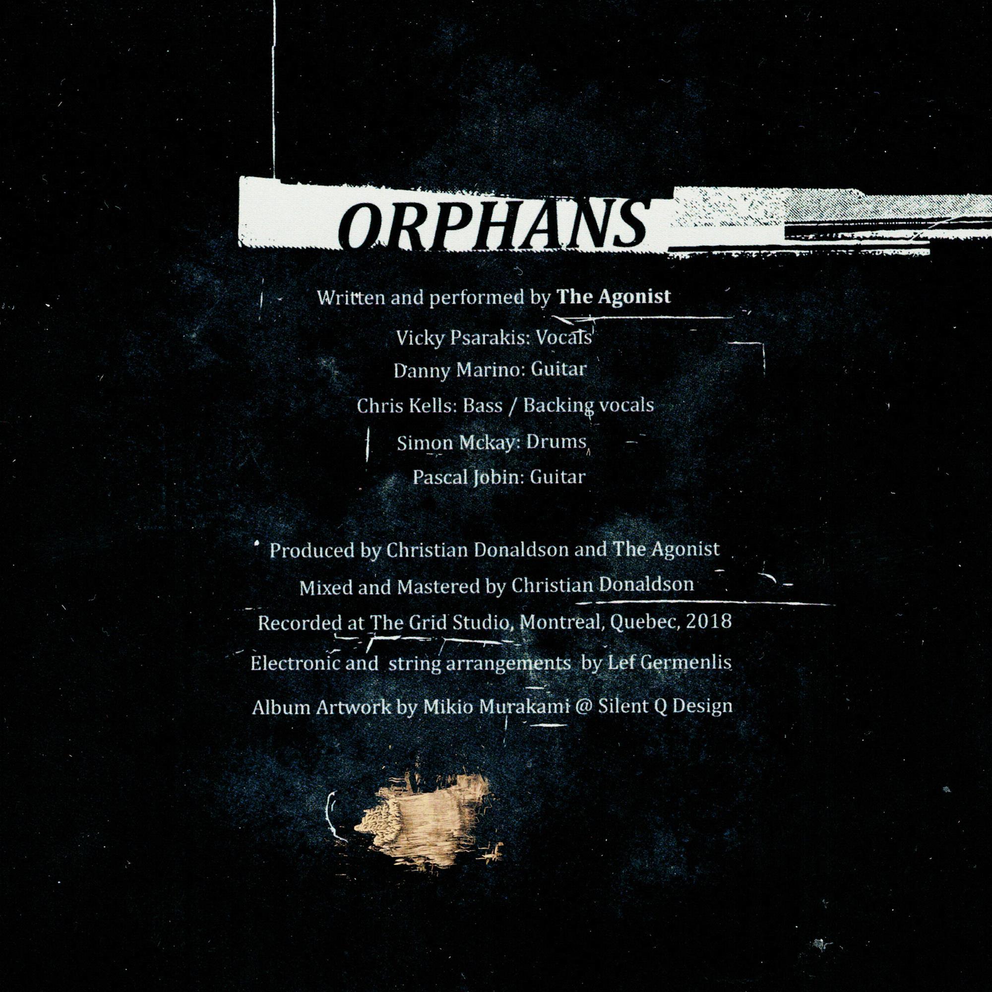 Orphans Autographed CD