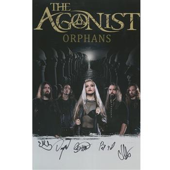 Buy Orphans Autographed Poster by The Agonist