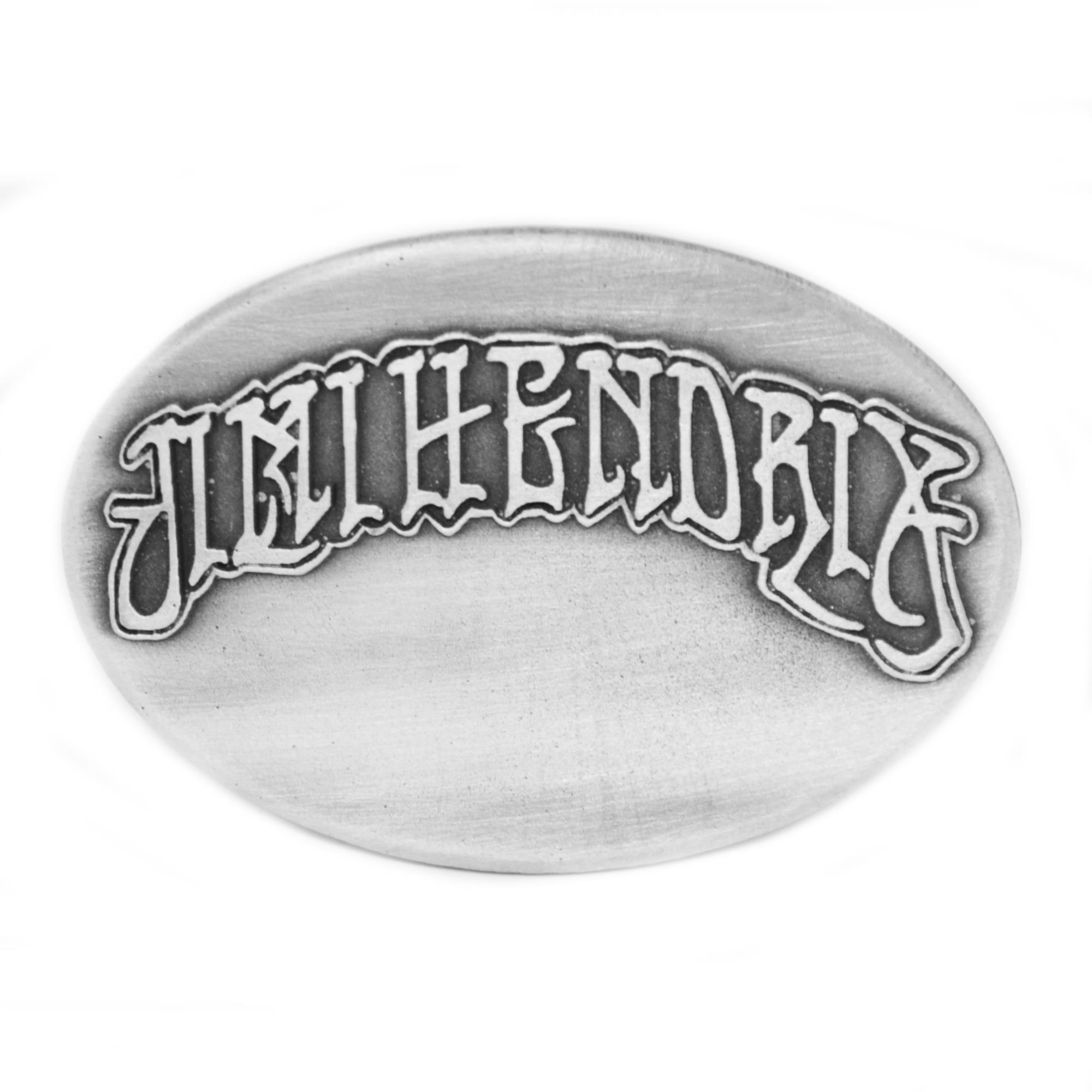 Oval Logo Buckle