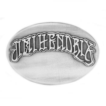 Jimi Hendrix Oval Logo Buckle