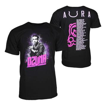 Buy Ozuna Aura Tour Black T-Shirt by Ozuna