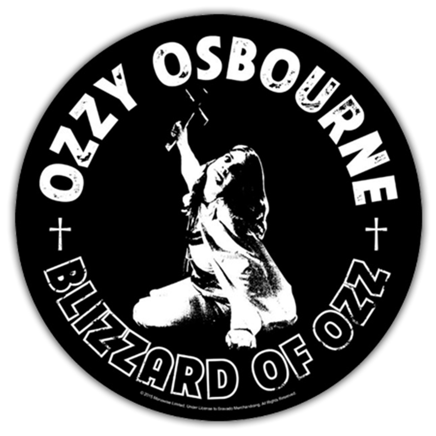 Blizzard Of Ozz Round Patch