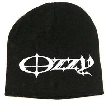 Buy Ozzy Osbourne Logo Beanie Hat by Ozzy Osbourne